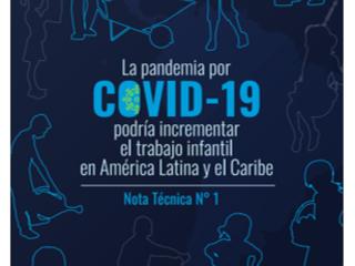 La crise causée par COVID-19 pourrait entraîner une augmentation significative du travail des enfants en Amérique latine et dans les Caraïbes