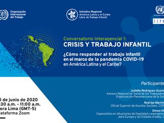 Comment répondre au travail des enfants dans le contexte de la pandémie de COVID-19 en Amérique latine et dans les Caraïbes ?