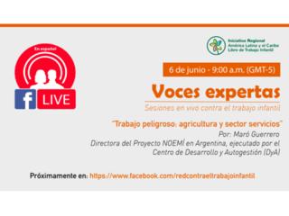 Matin! Dernière session d'Expert Voices dans le cadre de la Journée mondiale contre le travail des enfants